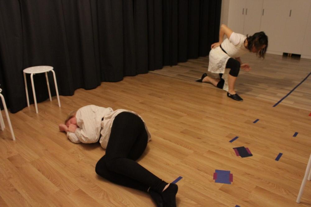 Här är några bilder från repetitioner (4/6)